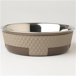 Kona Dinner Bowl Collection in Taupe