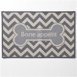 Bone Appetit, Taupe Jumbo Tapestry Placemat