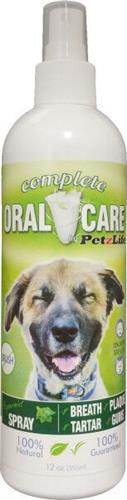 PetzLife Complete Oral Care Family Size Peppermint Spray, 12 oz