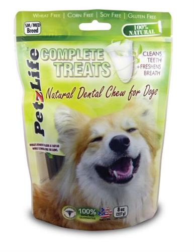 PetzLife Complete Dental Treat SMALL BREED 8 oz. - 14 ct