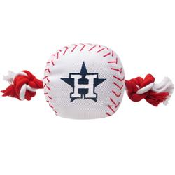 Houston Astros Baseball Toy - Nylon w/rope