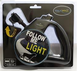Wigzi WalkWhiz - Follow Me Light Retractable Dog Leash