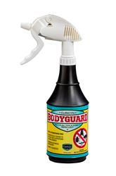 BodyGuard Fly, Flea, Tick and Insect Repellent - 24 oz spray bottle