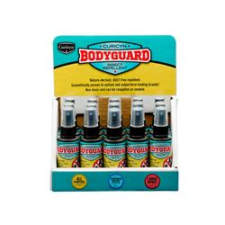 BodyGuard Fly, Flea, Tick and Insect Repellent - 15 Piece Register Display, 2oz. bottles