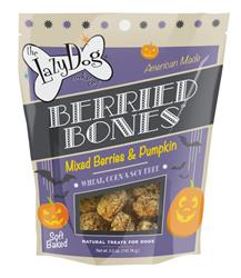 Berried Bones 5 oz Mixed Berries & Pumpkin Treats by Lazy Dog