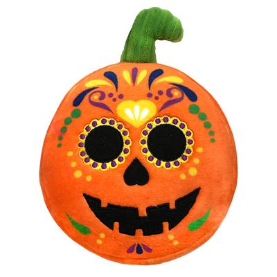Sugar Skull Pumpkin by Lulubelles Power Plush