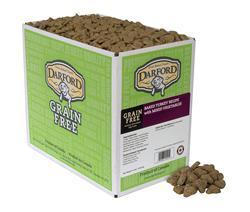 Turkey Minis Grain Free Baked Dog Treats by Darford