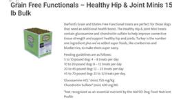 sale HIP /JOINT minis  Grain Free Baked Dog Treats by Darford