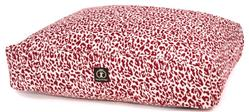 Red Leopard Rectangle Bed