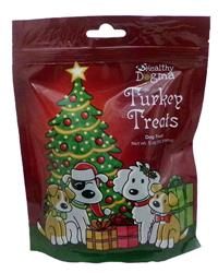 5 oz Holiday Christmas Turkey Treats by Healthy Dogma