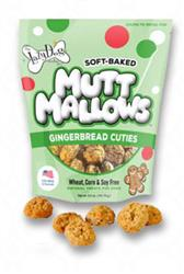 Gingerbread Cuties 5oz Mutt Mallows by The Lazy Dog