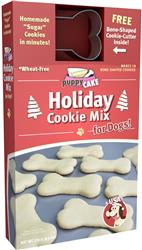 Holiday Cookie Mix and Cookie Cutter by Puppy Cake