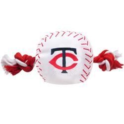 Minnesota Twins Baseball Toy - Nylon w/rope