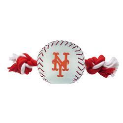 New York Mets Baseball Toy - Nylon w/rope