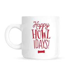 Happy Howlidays Mug by Pearhead