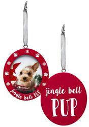 Jingle Bell Pup Photo Ornament by Pearhead