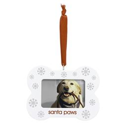 Santa Paw Ornament by Pearhead