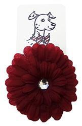 Huxley & Kent Silk Flower-Dahlia Red by Huxley & Kent