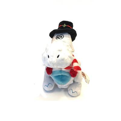 Holiday T-Rex White by goDog