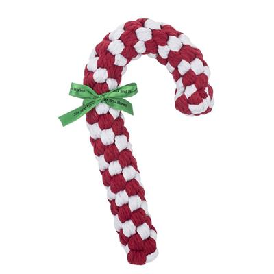 Candy Cane Rope Toy by JAX & BONES
