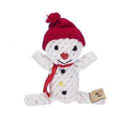 """6"""" Snowman Rope Toy by JAX & BONES"""