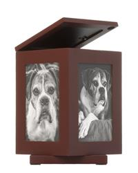 Rotating Pet Memory Box, Espresso