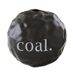"3.75"" Orbee Christmas Coal by Planet Dog"
