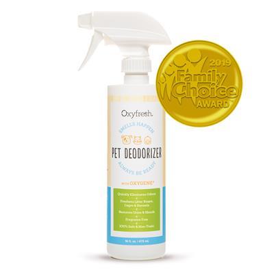 Pet Odor Eliminator - Pet Deodorizer by Oxyfresh.  16 oz. Spray Bottle
