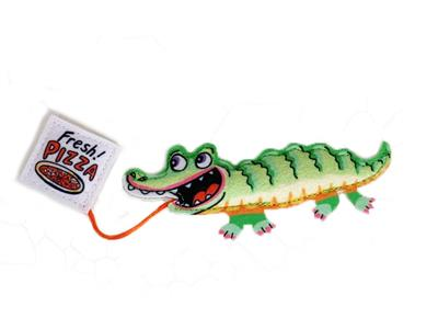 Gator and Pizza Cat Toy - Fast Food