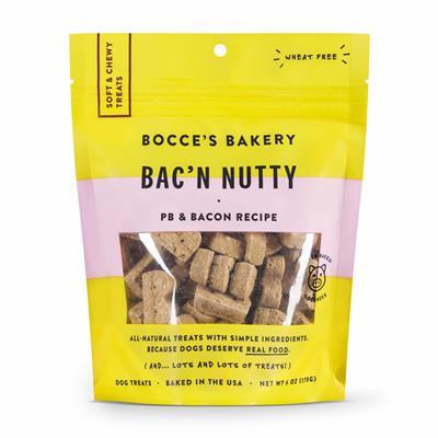 Bac N' Nutty: Soft & Chewy 6 OZ BAGS