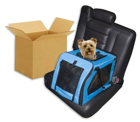 Signature Pet Car Seat & Carrier - Small in Aqua - Save $$$ with a Case Pack!