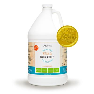 Pet Water Additive for Dogs & Cats - 1 Gallon Bottle