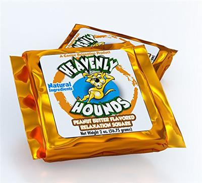 Heavenly Hounds - 72  Individually Wrapped 2 oz. Relaxation Squares (six 12-packs) exp date 07/17/2021