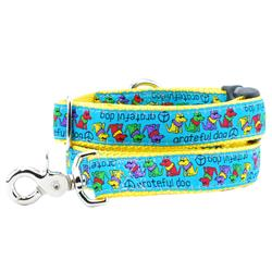 Grateful Dog Collars & Leads a Teddy The Dog & 2 Hounds Design Collaboration