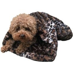 Dark Brown Leopard Cozy