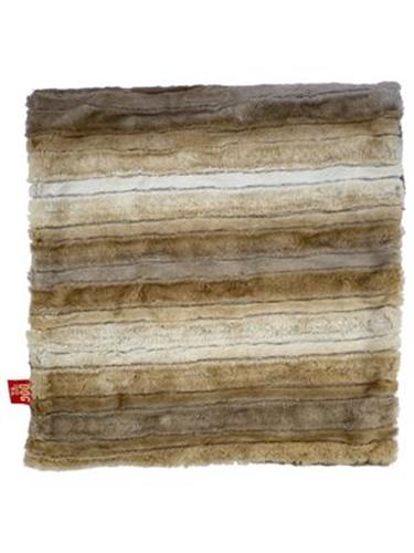 Blanket, Caramel Brown Ombre Square