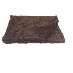 Brown Paisley Binkie