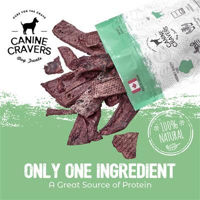Premium Beef Fillets - Canine Cravers Dog Treats, 5.3oz. Bag