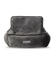 CAR SEAT QUILTED DARK GRAY - COPY