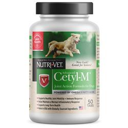 Nutri-Vet Cetyl-M Advanced Joint Action Formula Chewable Tablets, 50 count