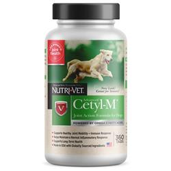 Nutri-Vet Cetyl-M Advanced Joint Action Formula Chewable Tablets, 360 ct
