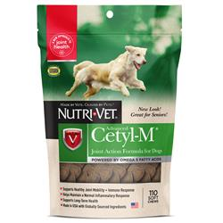 Nutri-Vet Cetyl-M Advanced Joint Action Formula Soft Chews, 110 count