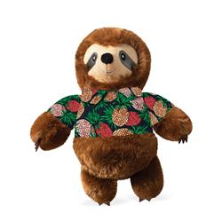 Vacay Vibes Sloth Plush Dog Toy