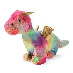 Rainbow Dragon Plush Dog Toy