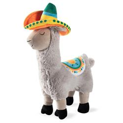 Llama Party Time Plush Dog Toy