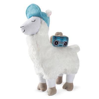 Beats Llama Plush Dog Toy