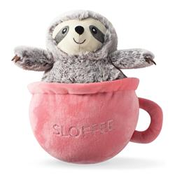 Sloffee Plush Dog Toy