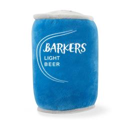 Barkers Light Beer Plush Dog Toy