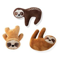 Basic Sloths 3 Piece Small Dog Toy Set