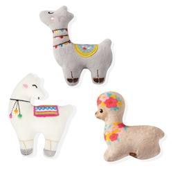 Llama Love 3 Piece Small Dog Toy Set